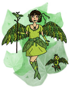 Chubby Challenge - Fenix Verde (Green Phoenix)