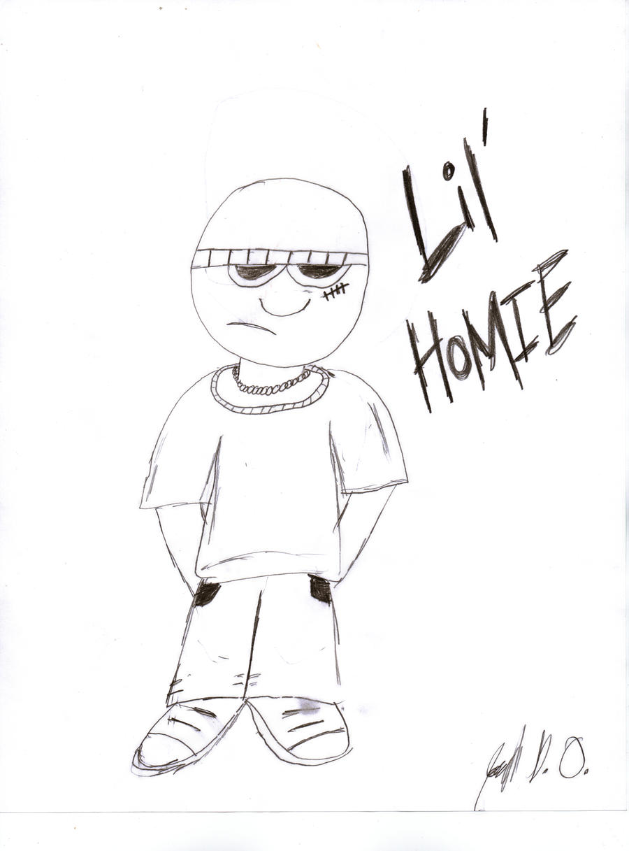 coloring pages of homies - photo#17