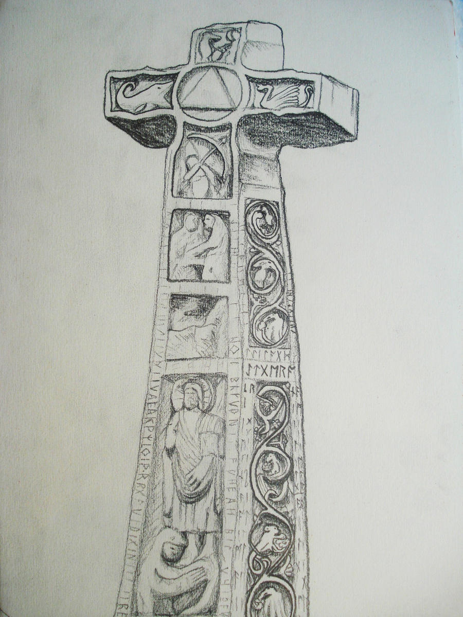 Ruthwell Cross by Justpowelly
