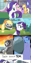 The Internet doesn't forget Rarity...