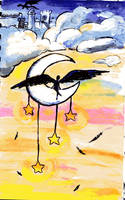Wings on the Moon by Classtiel