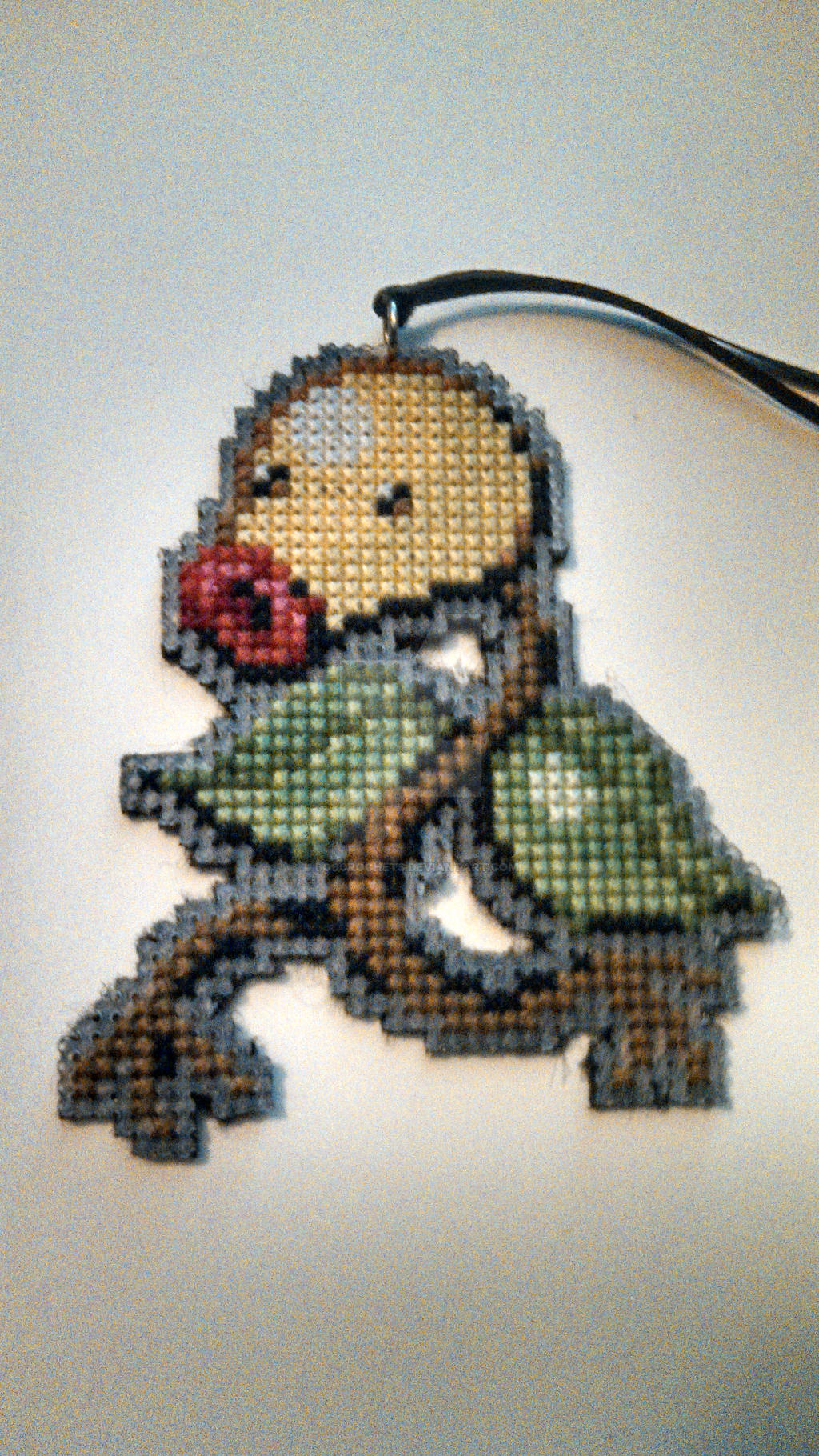 2 of 20: Bellsprout Ornament Complete! by bobcrochets