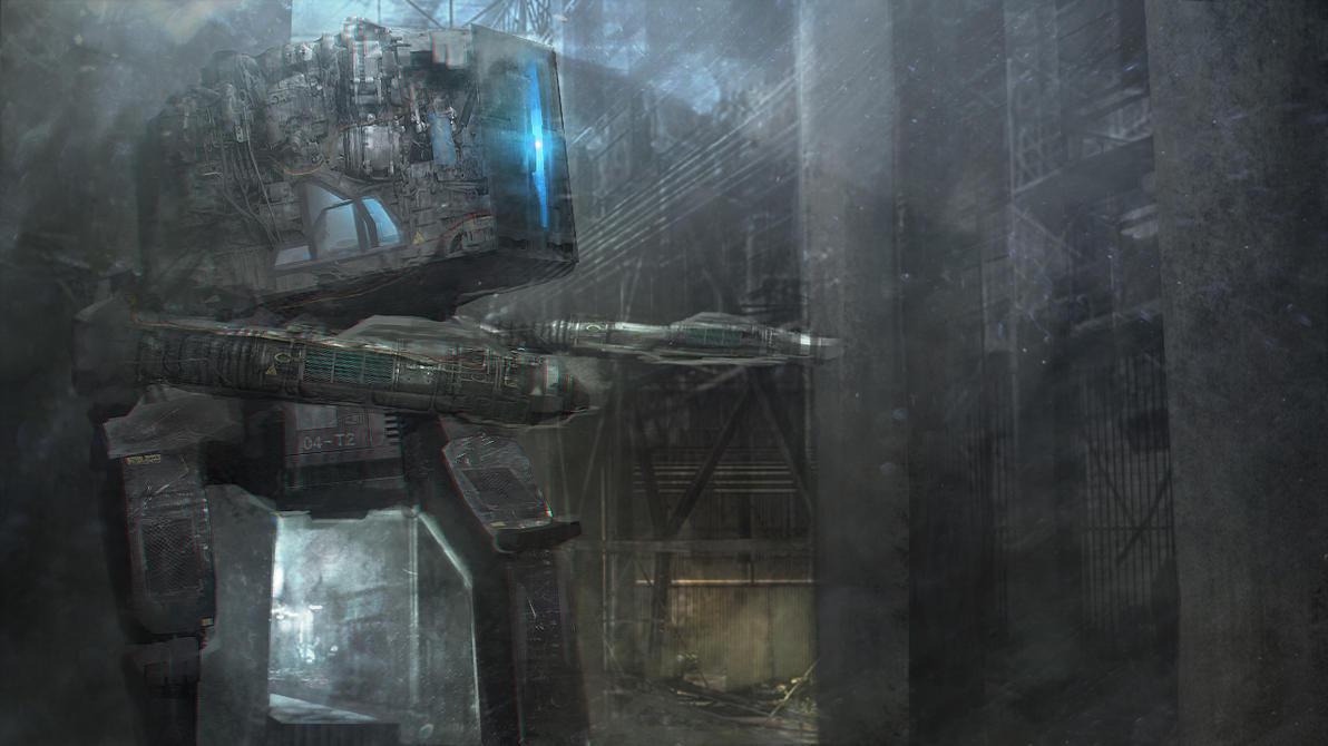 Robot 001 by kievda