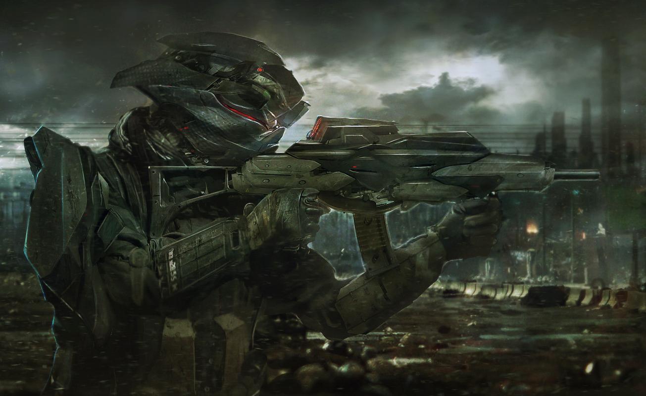 Soldat_01 by kievda