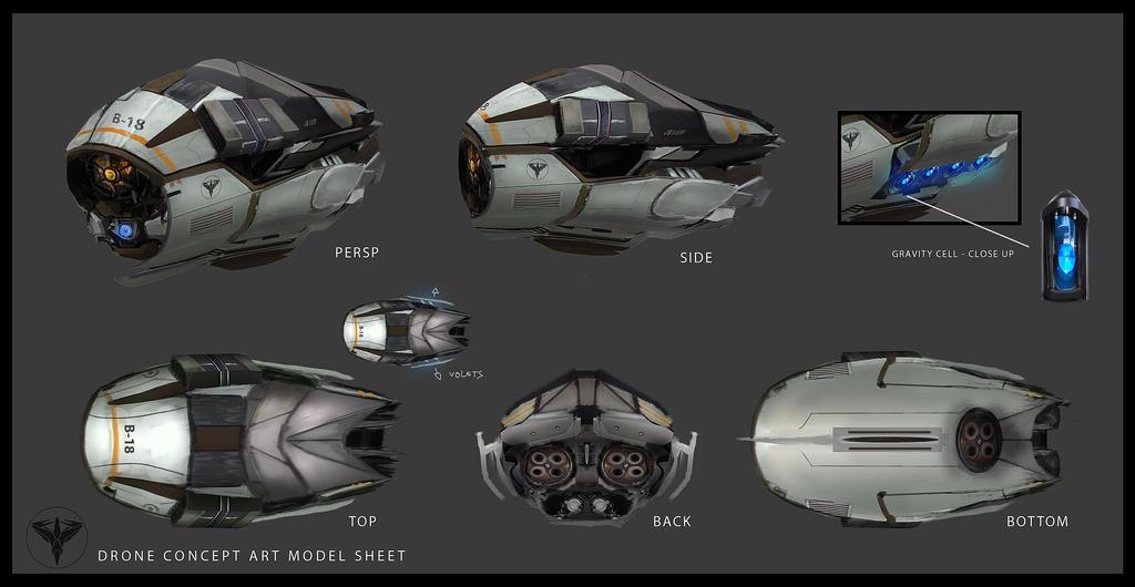 Drone Concept #Veiled by kievda