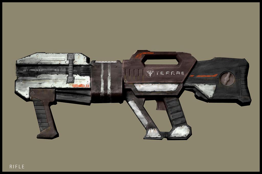 Rifle Concept #Veiled by kievda