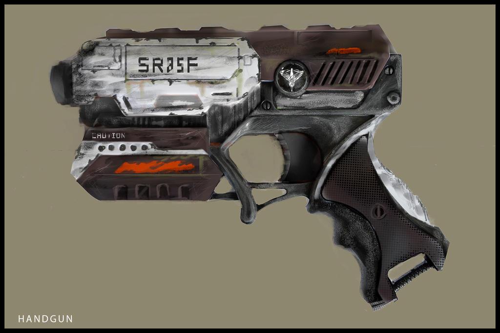 Handgun Concept #Veiled by kievda