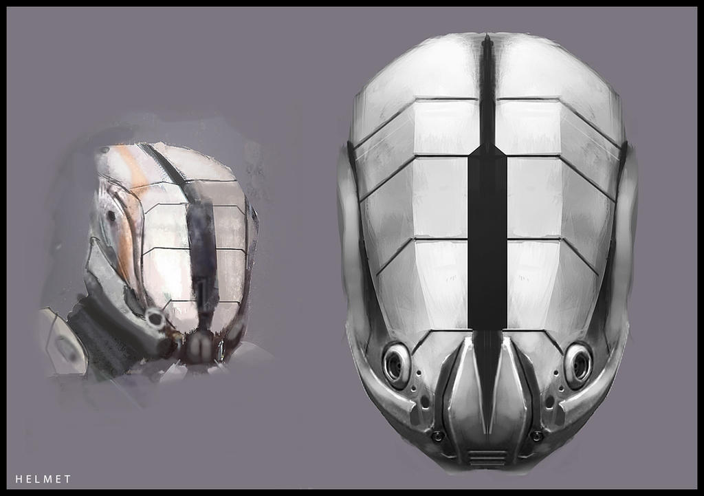 Helmet Concept#Veiled by kievda