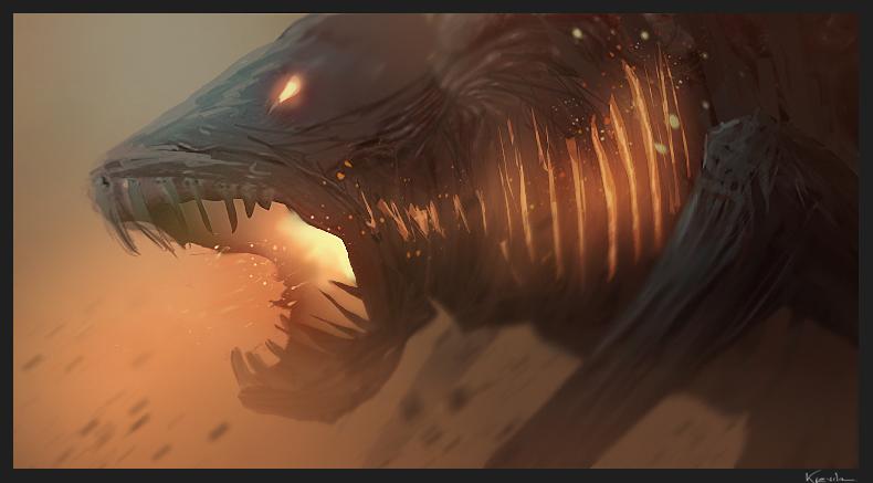 DSP, Fire Monster by kievda