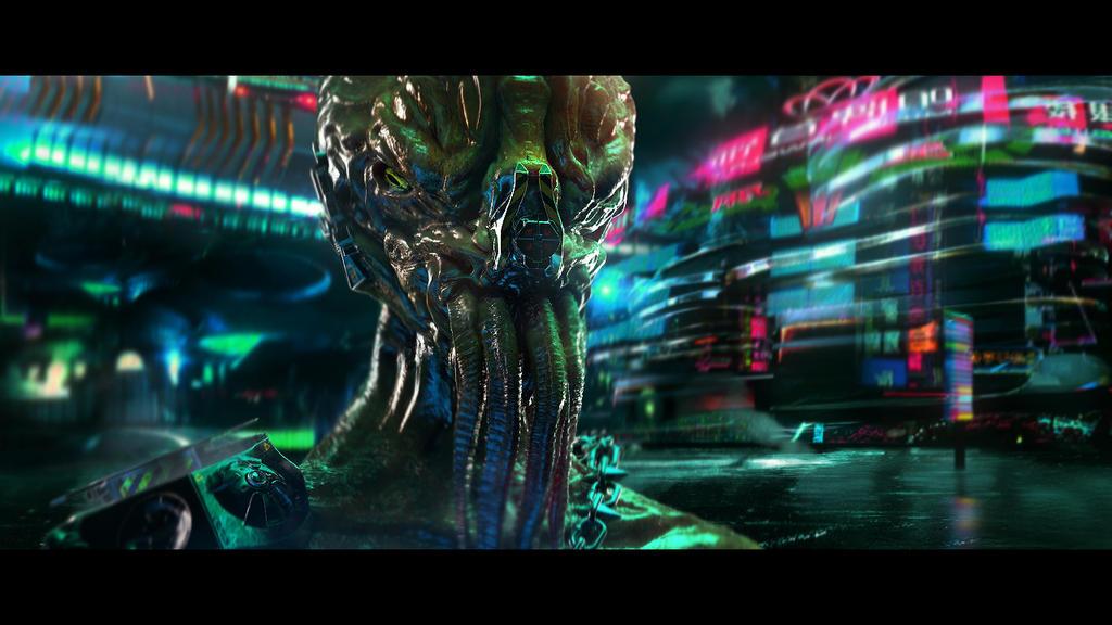 Random Alien by kievda