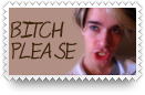 Bitch Please 1 Stamp by surunkeiju