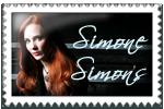 Simone Simons Stamp by surunkeiju