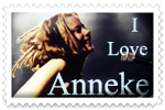 I Love Anneke Stamp by surunkeiju