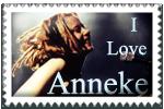 I Love Anneke Stamp by surunkeiju
