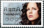 Anna Valerious Stamp by surunkeiju