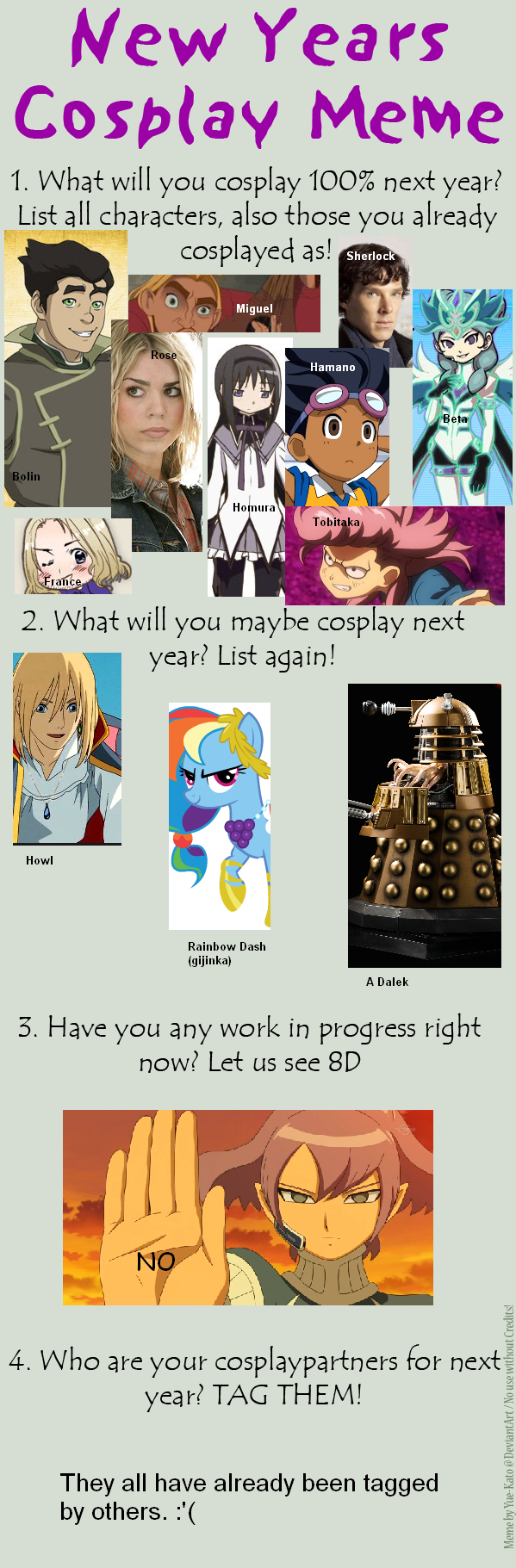 My future cosplays maybe or never by nukkelapsi