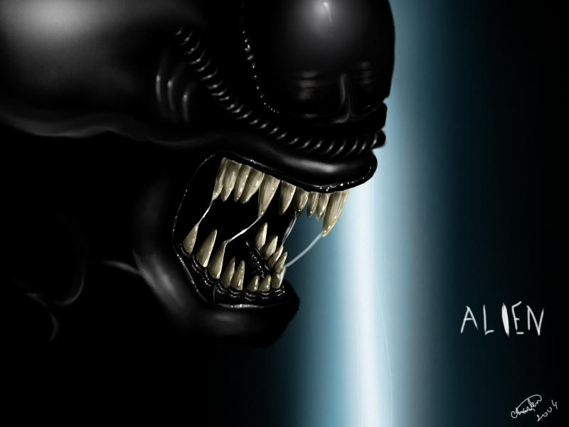 another alien wallpaper by AvPLeague