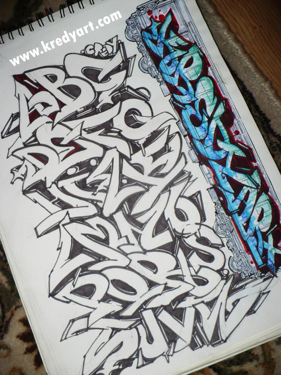 New Stylish Graffiti: Wildstyle Graffiti Letters