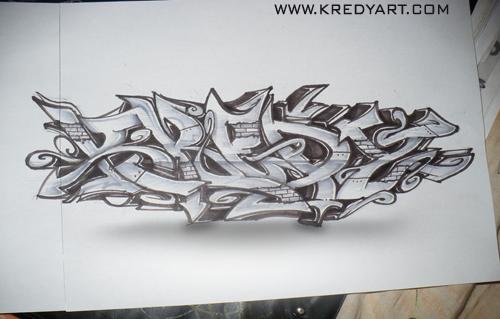 Steel Graffiti by KreDy