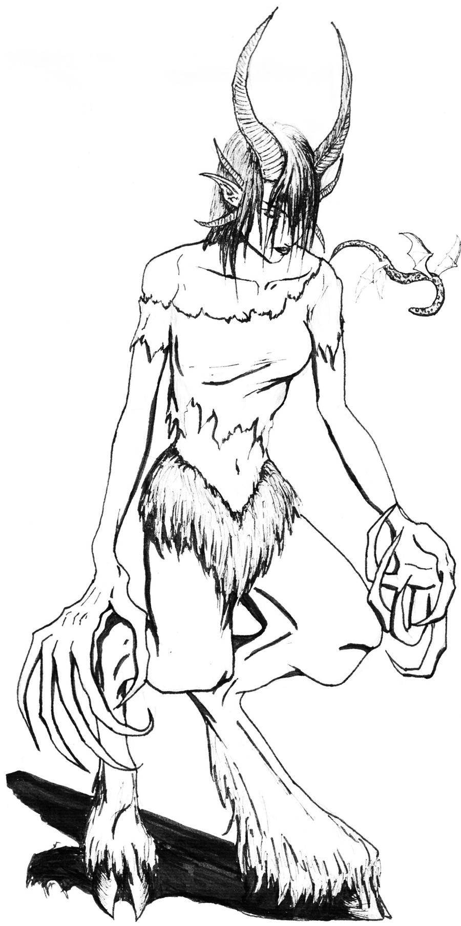 Female satyr nackt hentia woman