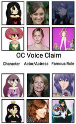 OC  Voice claims 5