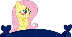 Fluttershy is Blushing