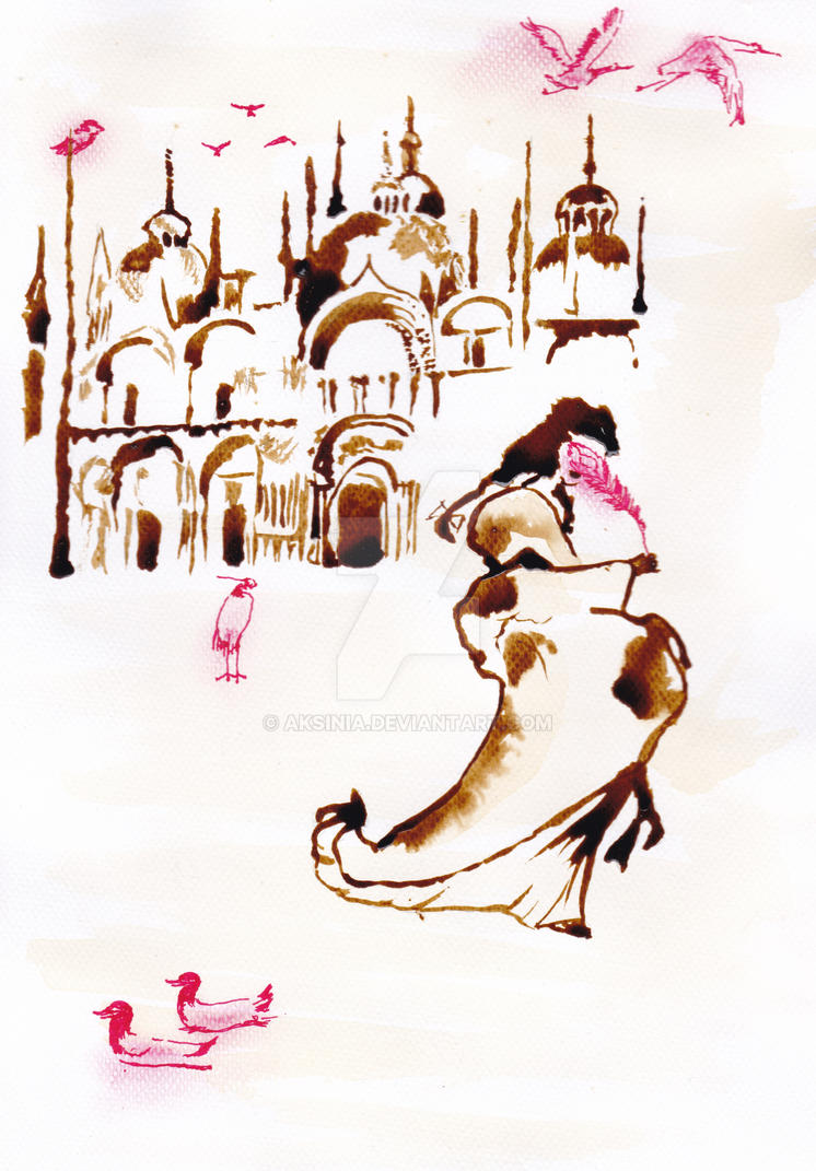 Red Venice by aksinia