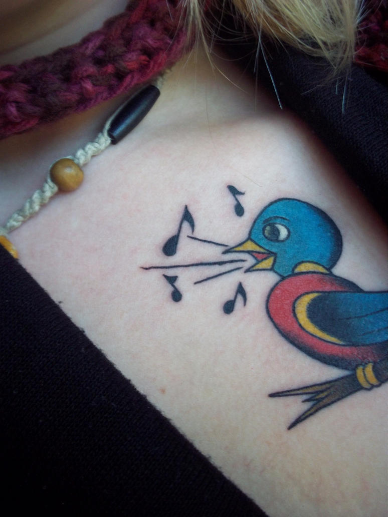 Traditional bird tattoo by lostnlove479 on deviantart for Tattoo shops in ocala