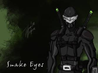 Sigma Six Snake Eyes by KBladez