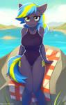 Beach Pone