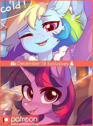 December Exclusive Arts by Fensu-San