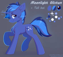 Moonlight Glisten Reference by Fensu-San