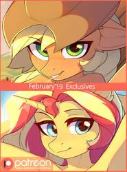February Exclusive Arts by Fensu-San