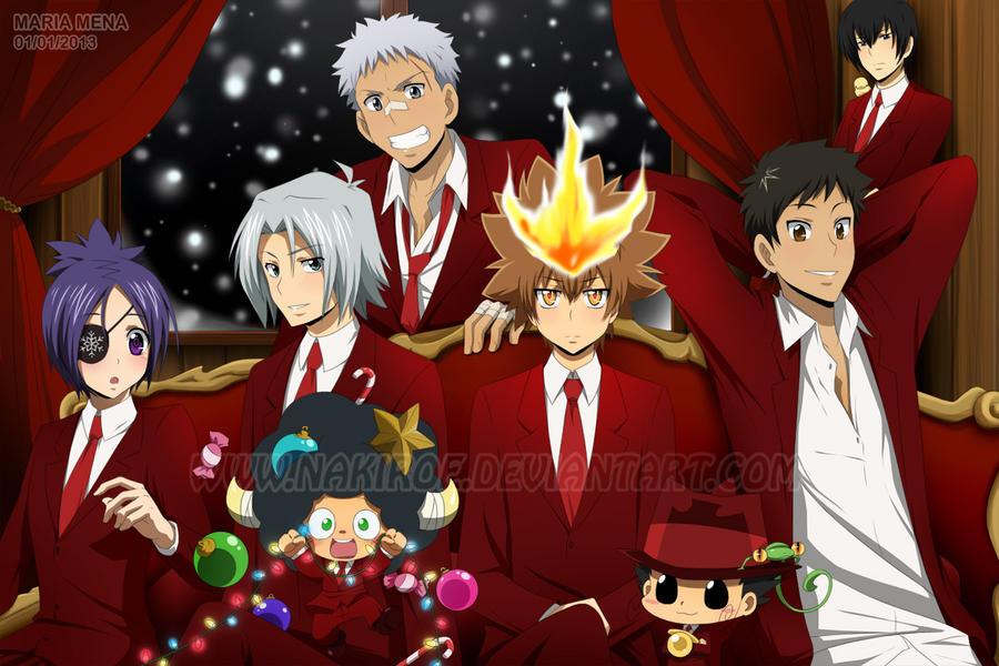 Vongola Famiglia Christmas by Nakiroe