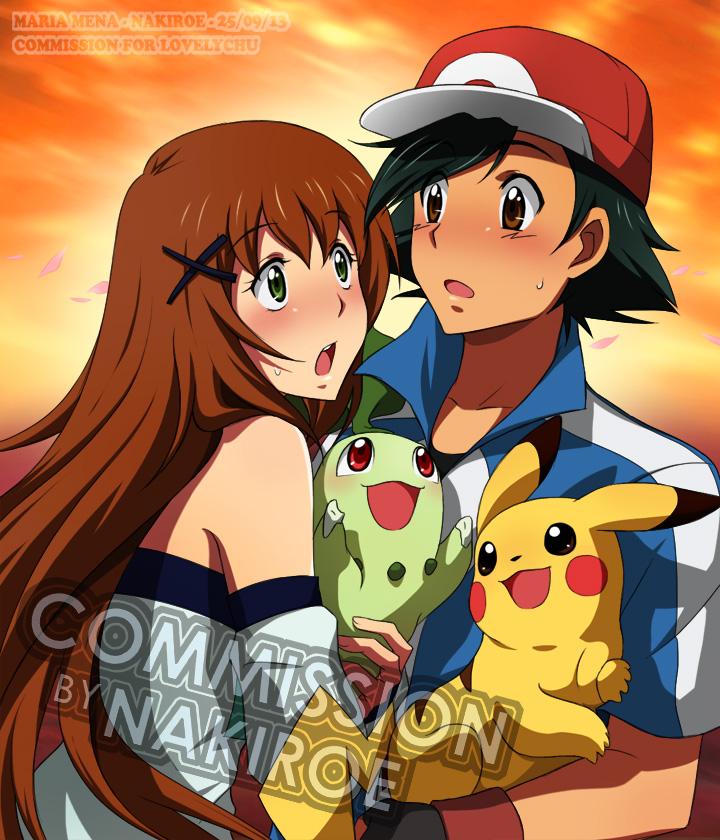 Pokemon Ash And Serena Fanfiction Pokemon xy - serena y ashPokemon Serena And Ash Fanfiction