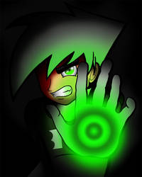 Danny Phantom Using His Ghost Powers favourites by