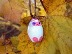 Pink Siamese Cat Ornament