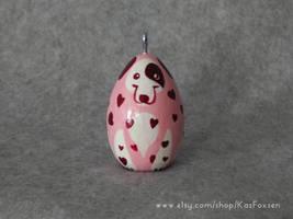 Valentine Dog Dalmatian by KazFoxsen