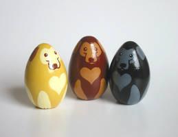 Labrador Retriever Figurines by KazFoxsen
