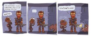 Fallout 3: Silent but Deadly by KazFoxsen