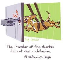 Twaggie 2: Doorbell Chihuahua by KazFoxsen