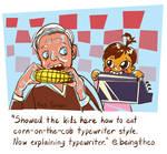 Twaggie 10: Typewriter Corn