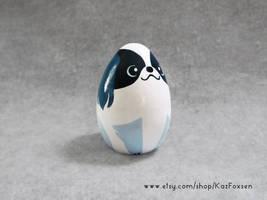 Custom Japanese Chin Dog Ornament or Figurine by KazFoxsen