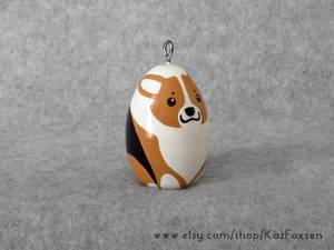 Comission: Custom Corgi Dog Figurine or Ornament