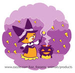 Halloween Fox Witch Summoning Candy