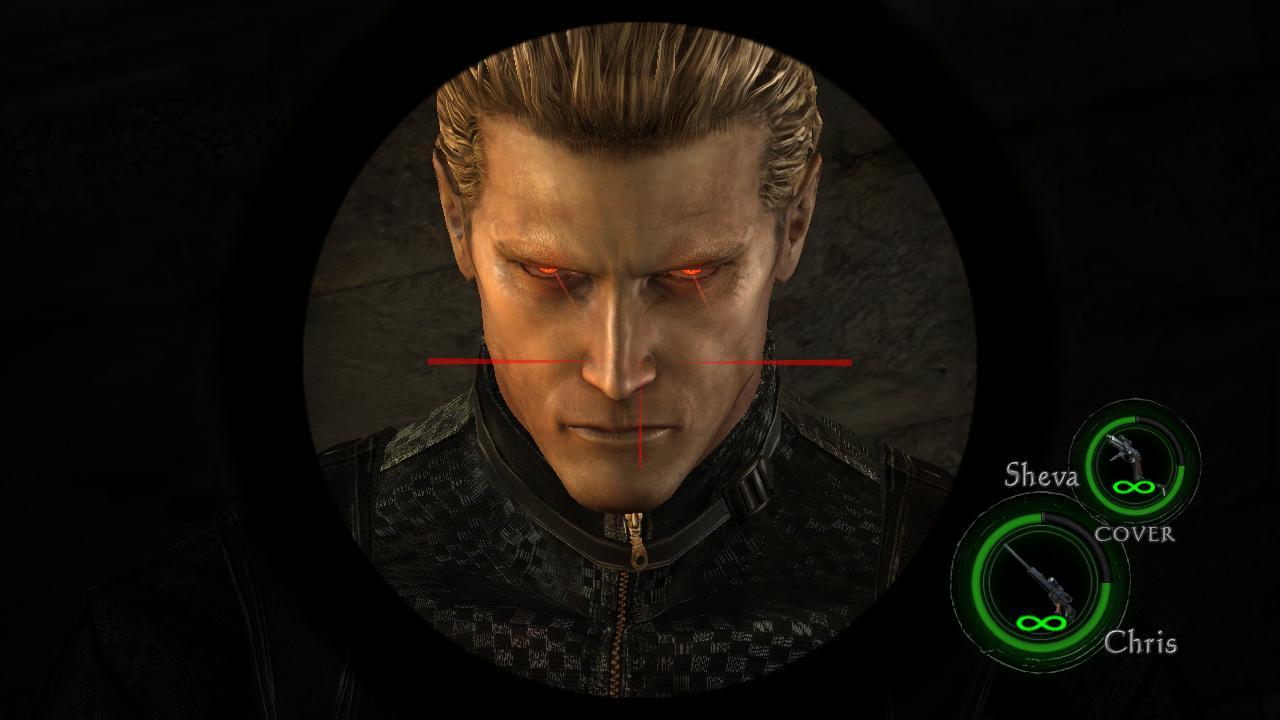Albert Wesker Eyes