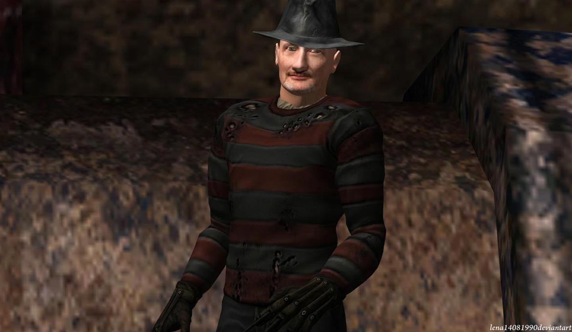 Freddy Krueger-Robert Englund by WolfShadow14081990Robert Englund Freddy Krueger