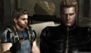 Wesker did not know that you love kiss