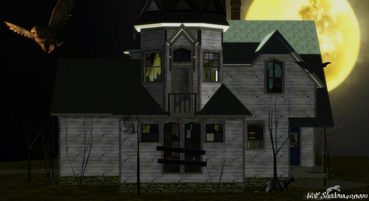 Mystery House by WolfShadow14081990