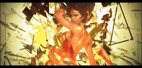 Wonder Women by LotusVEater